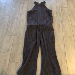 Cloth & Stone Cotton Jumpsuit